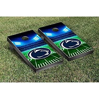 Penn State PSU Nittany Lions Regulation Cornhole Game Set Stadium Version