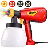 Paint Sprayer Power Painter, Popoman 500W Up to 100 DIN-s, 800ml/min Paint Sprayer