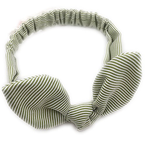 Drawihi Bande de Cheveux Pour Enfants Accessoires de Cheveux d'oreille de Lapin de Bébé Vert