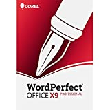 Corel WordPerfect Office X9 All-in-One Office Suite, Professional Edition - Upgrade [PC Download]
