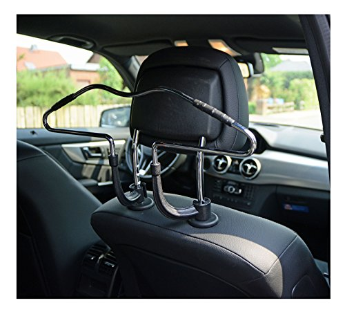 Ejut Car Coat Hanger Seat Headrest Metal