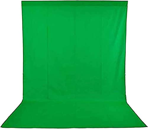 SONIA Professional Backdrop for Photography Background Stand Green Screen for Photo Light Studio Accurate 8x10 Ft for...