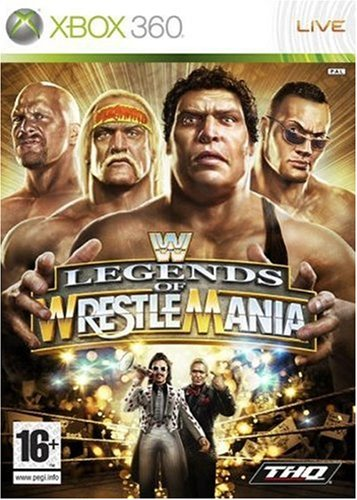 Wwe Legends of Wrestlemania - Jeux