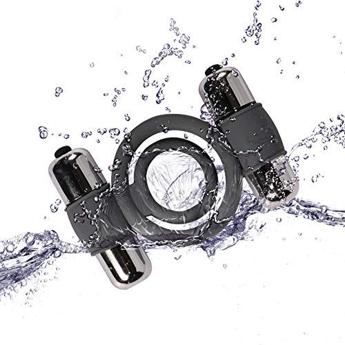 Vîbrâting C'õck Rîńg Set Vîbërâte Peńîs Rîńg Vîbrâtõr for Men Waterproof Soft Toys with 10 Speeds Perfect Gift for Men