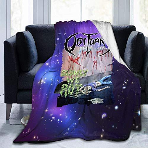 lanjiangbaih - Manta Supersuave para sofá, Cama, diseño de Cielo Estrellado, 50x40 Inch