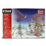 K'nex Thrill Rides. 3En1 Parque Atracciones: Noria + Sillas Voladoras + Péndulo. Juego de Construcción con Motor. Knex 3 en 1 744 Piezas (Fábrica de Juguetes 41230)