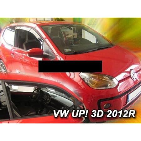 Zentimex Z774123 Windabweiser Regenabweiser Acrylglas Dunkelgrau Für Vorne Auto