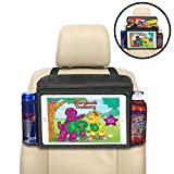 lebogner Insulated Car Seat Back Organizer + iPad and Tablet...