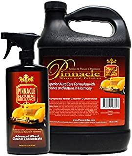 PINNACLE Advanced Wheel Cleaner Concentrate Gallon & 16 oz. Combo