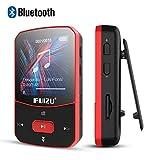 RUIZU MP3 Player mit Bluetooth 4,1 8 GB Clip Sport Tragbarer, Verlustfreier Sound HiFi Music Player mit FM-Radio Sprachaufzeichnungs Video Kopfhörern zum Laufen, Unterstützung von bis zu 128 GB
