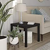 Ameriwood Home Parsons Modern End Table, Espresso