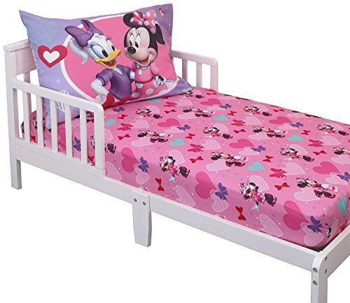 Disney Minnie Mouse Toddler Sheet Set