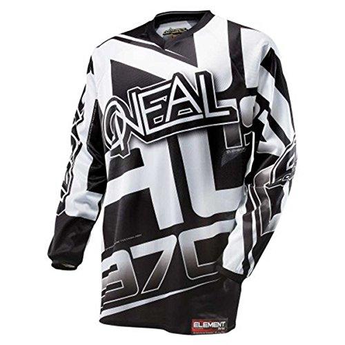 O'NEAL Element Racewear FR Jersey Trikot lang schwarz/weiß 2014: Größe: M (48/50)