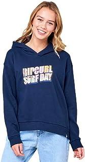 Rip Curl Postcard Hood Surf Reviva Womens Pullover Hoody X Small Navy