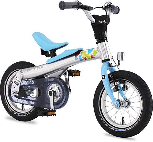 "Rennrad Convertible 2 in 1 Balance/Pedal Kids Bike 12"" Blue"