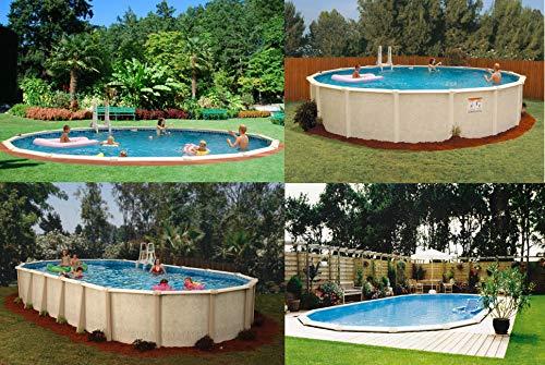 Interline 55000120 oval Pool Sunlake Komplett Set - 2