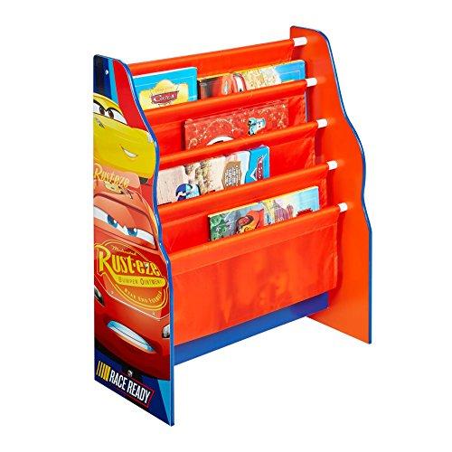 Disney Cars - Hängefach-Bücherregal für Kinder – Büchergestell für das Kinderzimmer