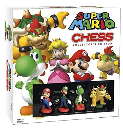 USAOPOLY Super Mario Chess Collectors Edition