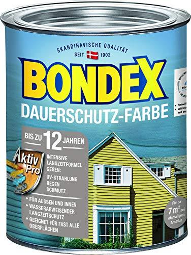 Bondex Dauerschutz-Holzfarbe Schneeweiß 0,75 l - 329893