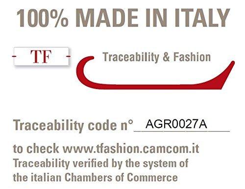 DALLE PIANE CASHMERE - Sciarpa 100% cashmere - Uomo/Donna, Colore: Nero, Taglia unica