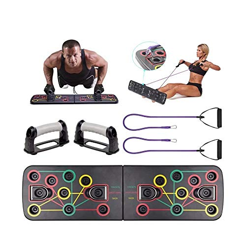 Opdrukbord met trekkoord Body Building Fitness Oefening Body Training Full Body Workout System