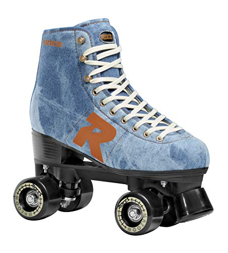 4 Roces Womens 52 Star Roller Skates Black-Red