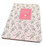 Flowery Journal, Planner Notebook and Calendar Schedule Organizer (Pink Cherry Blossom, A7(5 inch))