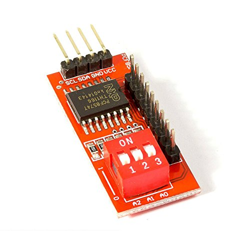 MissBirdler I2C Port I/O erweiterer PCF8574T PCF8574 kaskadierbar für Arduino Raspberry Pi DIY