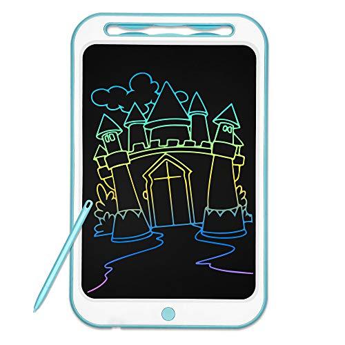 Richgv Tableta de Escritura LCD de 12 Pulgadas, Tableta LCD Writing, una Llave para borrar, Tabla de Pintura Doodle, ultradelgada y portátil, Regalo para niños, Escuela, Familia, Adultos, Oficina