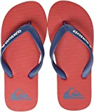 Quiksilver Molokai Youth, Zapatos de Playa y Piscina para Niños, Multicolor (Red/Blue/Red Xrbr), 38 EU