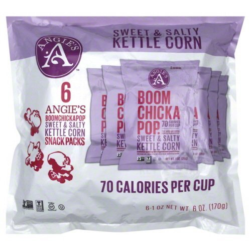 Great Price! Angie's Kettle Corn Popcorn Sweet N Salty 6Ct 6 Oz (Pack Of 8)