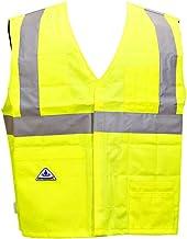 Techniche 6538 Traffic Safety Vest, Hi Vis Yellow, Size: S/M
