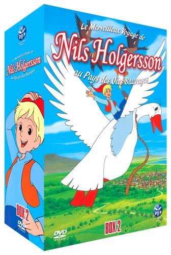 Nils Holgersson-Partie 2-Coffret 4 DVD-VF