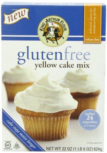 King Arthur Cake Mix, Yellow, 22 Ounce