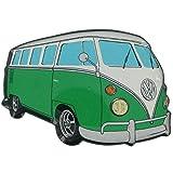 Imán para la nevera, diseño original de Volkswagen, camper VW, color verde