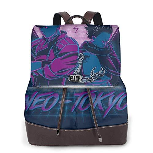 Neo Tokyo Now Youre A Boss Too Akira Women's Bapack, College Girl School Bag, Ladies Travel Bapack, Ladies Leather Bapack