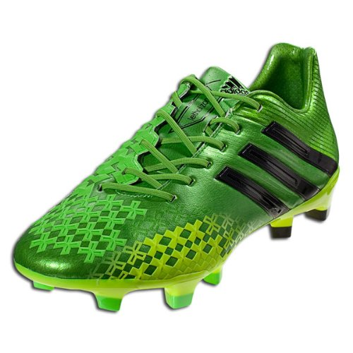 Adidas Predator LZ TRX FG greenblack professional men's soccer cleats boots NEW
