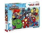 Clementoni- Marvel Super Hero Puzzle, 60 Piezas, Multicolor (26454.4)