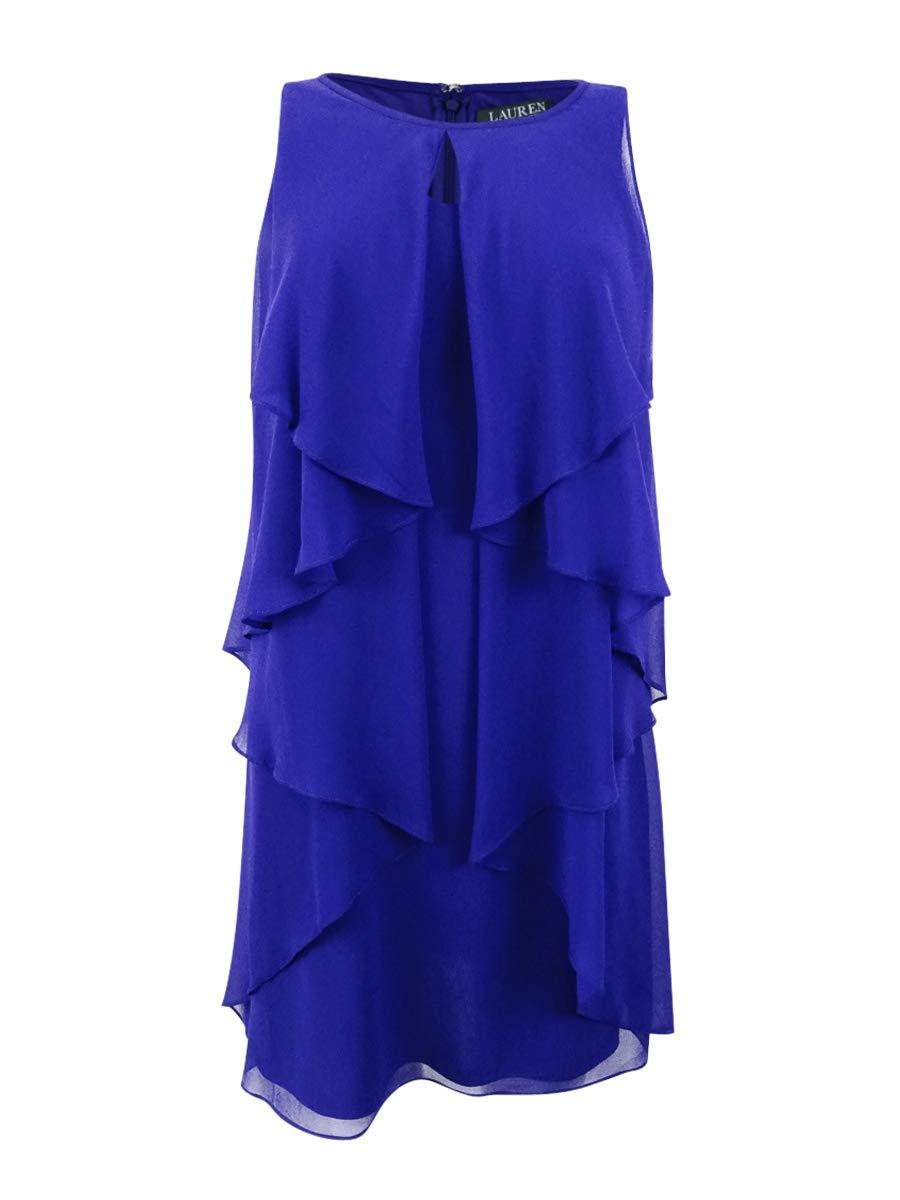 Available at Amazon: LAUREN RALPH LAUREN Women's Sleeveless Mini Party Dress Purple 10