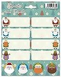 Grupo Erik Editores   Etiquetas Navidad Reyes Y Santa Pinitos...