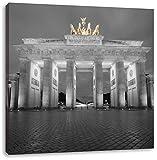 Pixxprint schönes Brandenburger Tor als Leinwandbild