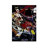 FDGER Sebastian Vettel Poster, dekoratives Gemälde,