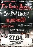 Six Feet Under - Bochum 2010 - Konzert-Poster A1