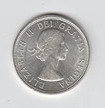 1964 Canada - Canadian Silver Dollar Coin $1 About Uncirculated