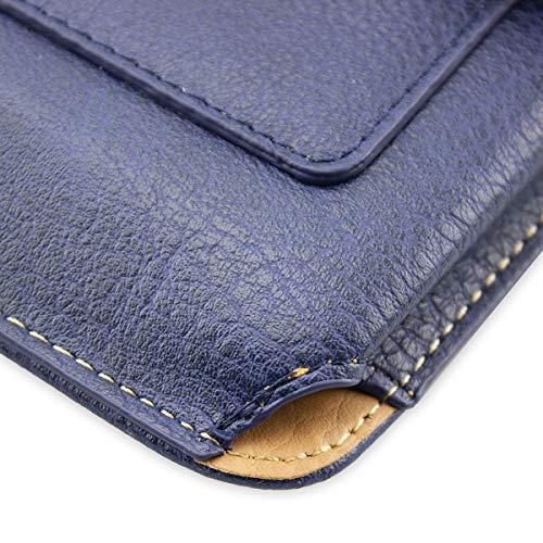 caseroxx Handy Tasche Outdoor Tasche für Doogee S50, mit drehbarem Gürtelclip in blau