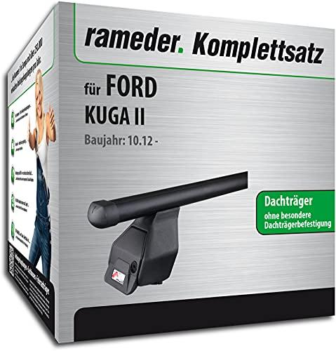 Rameder Set, Dachträger Tema kompatibel für Ford KUGA II (141082-11097-1)