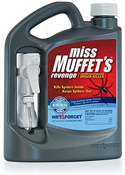 WET FORGET 803064 Miss Muffet S Revenge Spider Killer