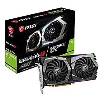 MSI Gaming GeForce GTX 1660 Super 192-bit HDMI/DP 6GB GDRR6 HDCP Support DirectX 12 Dual Fan VR Ready OC Graphics Card  GTX 1660 Super Gaming X