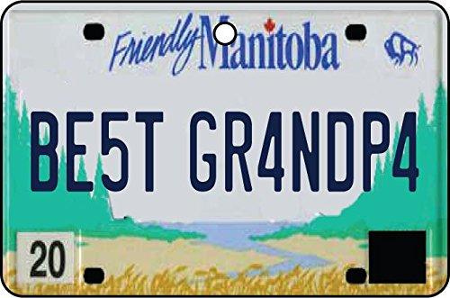 Ali Air Freshener Manitoba - Best Grandpa Nummernschild Auto Lufterfrischer