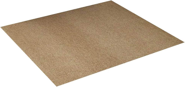 Premium Doormat, Indoor Outdoor Entrance Pad Non-Slip Durable Washable Dust Pad Suitable for Entrances, Front Doors, Patios, Kitchens, Back Doors, Garages -Camel-100x120Cm(39x47Inch)